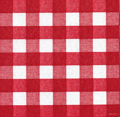 "Red Bistro Paper Napkins (5"")"