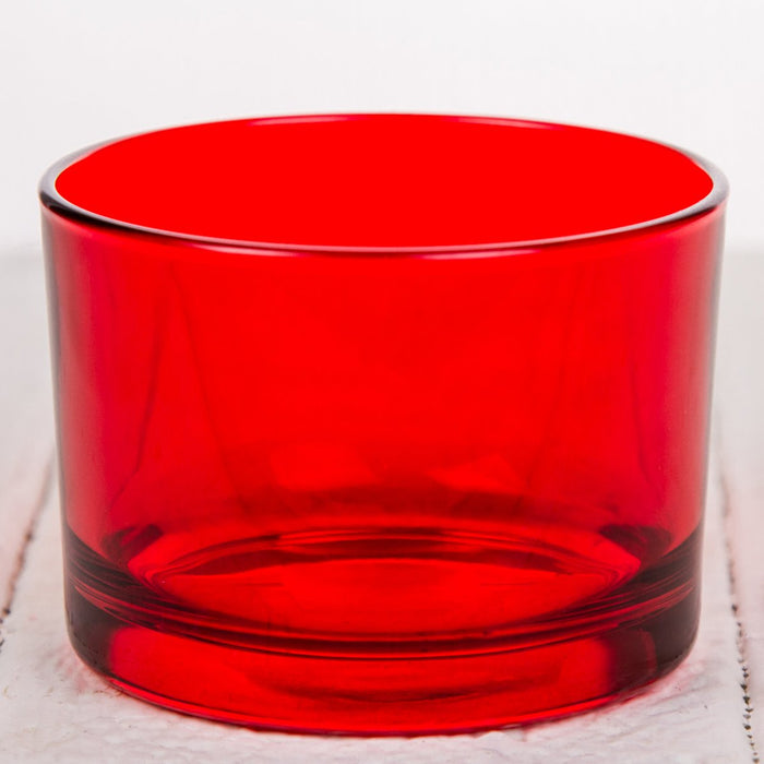 Red Bodega Glass Tumbler