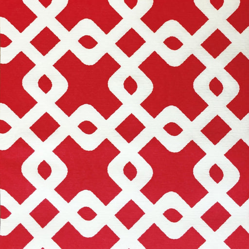 "Red Chain Paper Napkins (8"")"