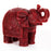 Red Elephant Candle