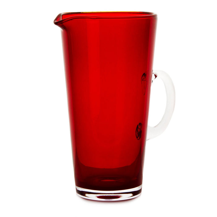 Red Nadia Glass Pitchers
