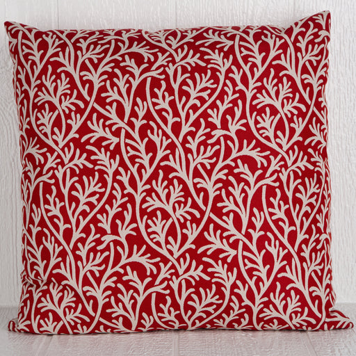 "Red O'Corrales Pillow (24"" x 24"")"