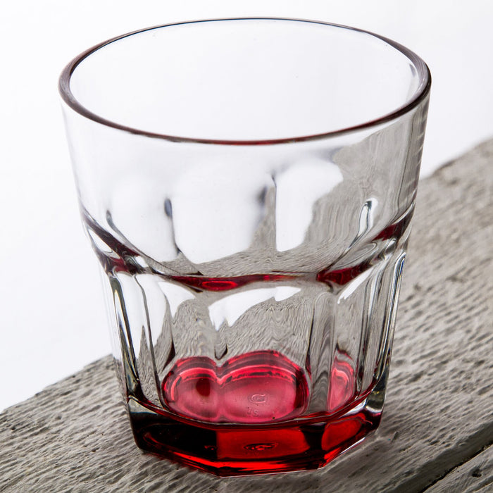 Red Optical Drinking Cup