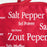 Red Salt & Pepper Pot Holder