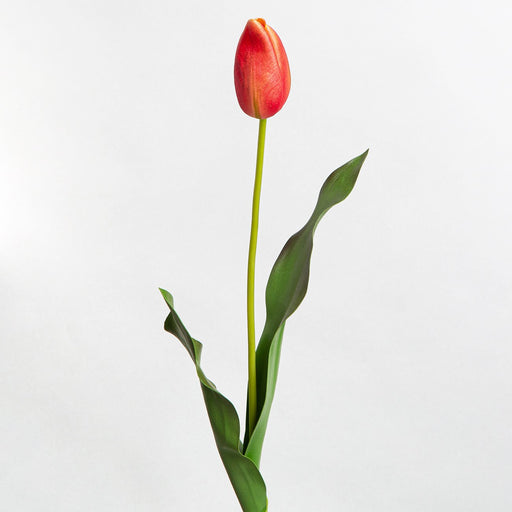 Red Tulip Silk Flower
