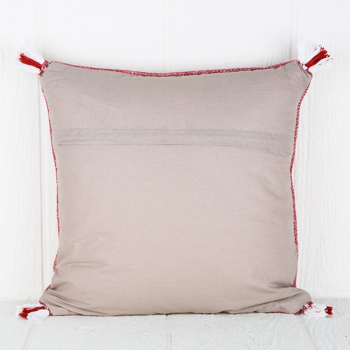 Red Yoko Pillow
