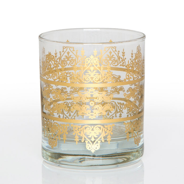 Royal Moroccan Tea Glass (Short)