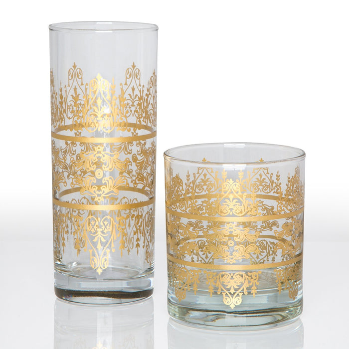 Royal Moroccan Tea Glass (Tall)