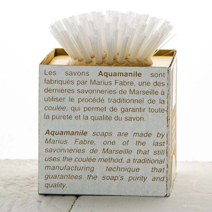 Savon de Marseille Cube Soap with Brush (400g)