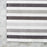 "Shadow Striped 100% Cotton Placemat (19.75"" x 13.25"")"
