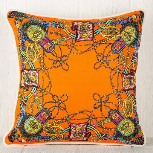 Silk Scarf Pillow - Lariat Lasso