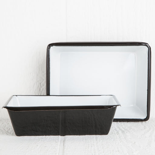 Small Black Decorative Metal Tray
