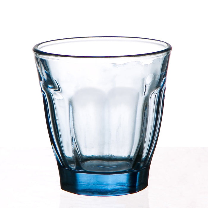 Small Blue Bistro Glass