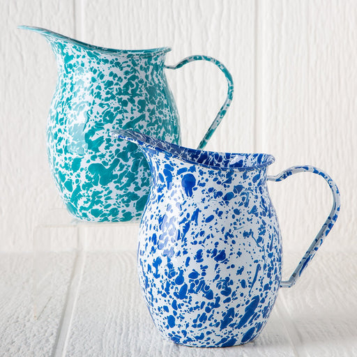 Small Enamelware Pitchers