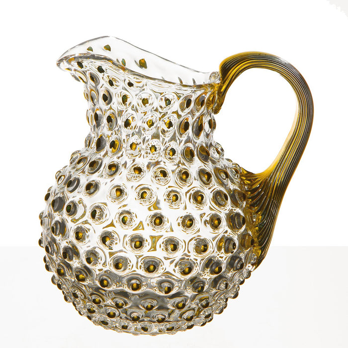 Small Gold Hobnail Pitcher (.5L)