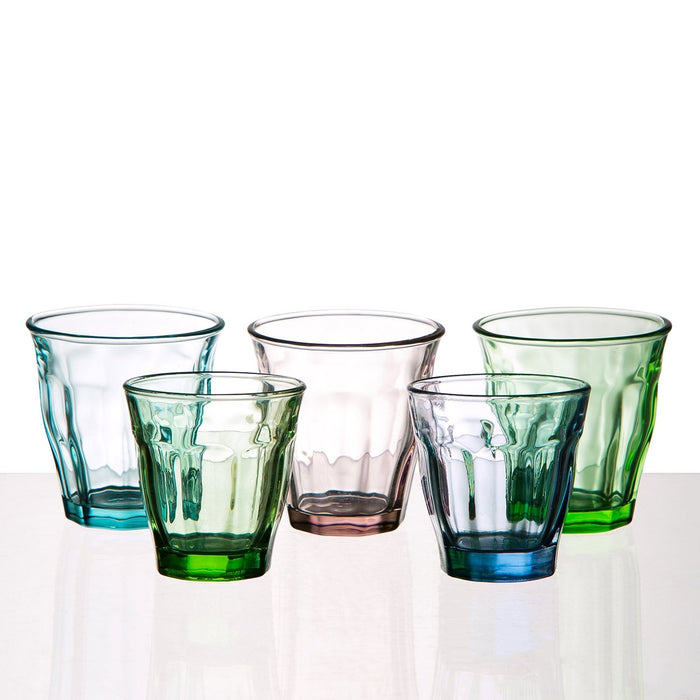 Small Green Bistro Glass
