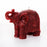 Small Red Elephant Candle