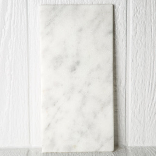 Small White Marble Rectangular Board