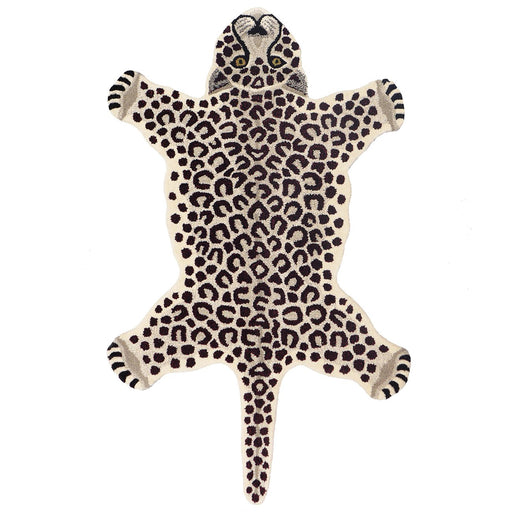 Snow Leopard Animal Rug (Small)
