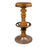 Sourwood & Metal Bar Stool