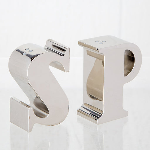 S&P Salt and Pepper Shakers
