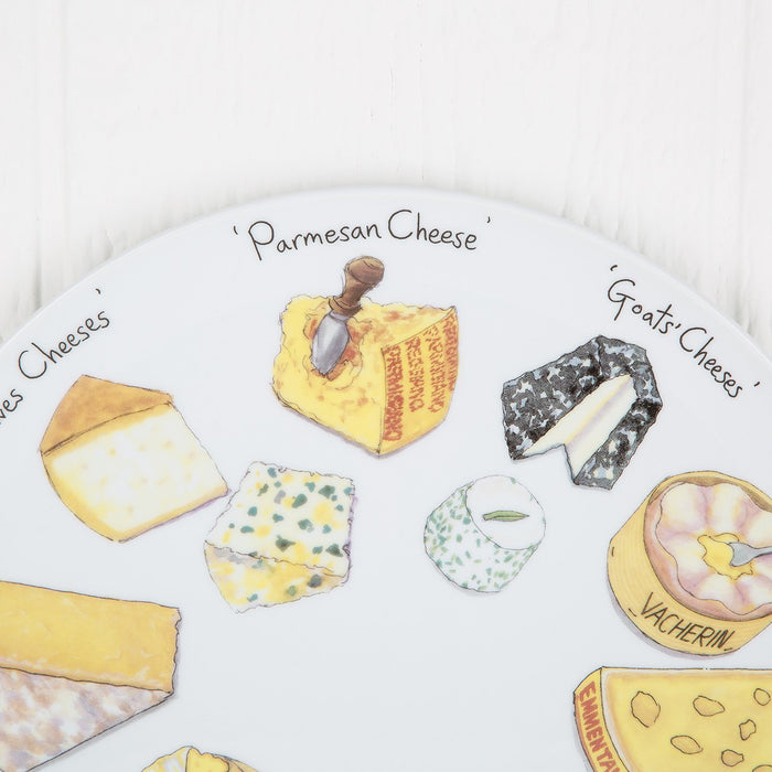 Specially Painted Cheese Plate