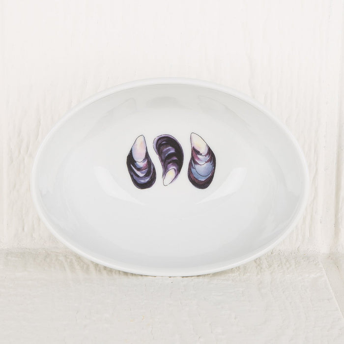 Specially Painted High Sided Mussel Bowl (small)
