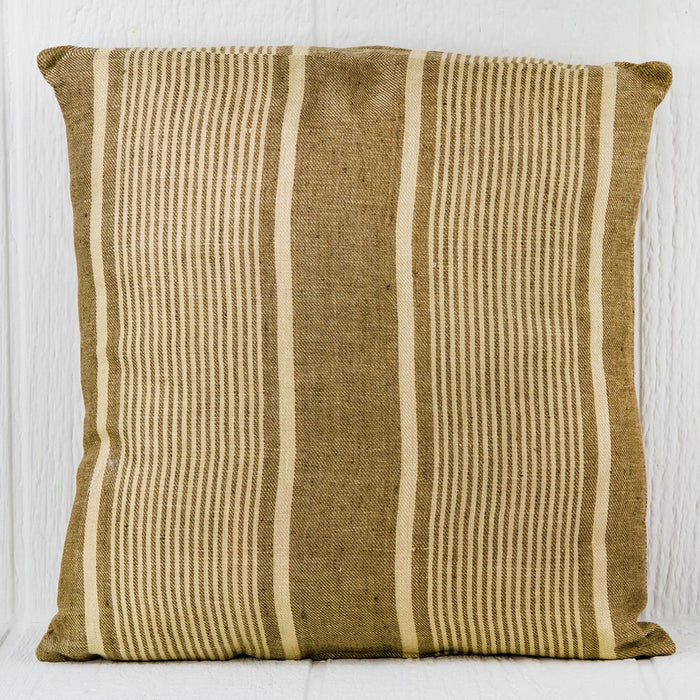 "Striped Neutral AR-12 Pillow (16"" x 16"")"