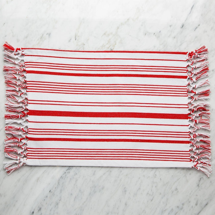 Striped Red Virgil Placemat