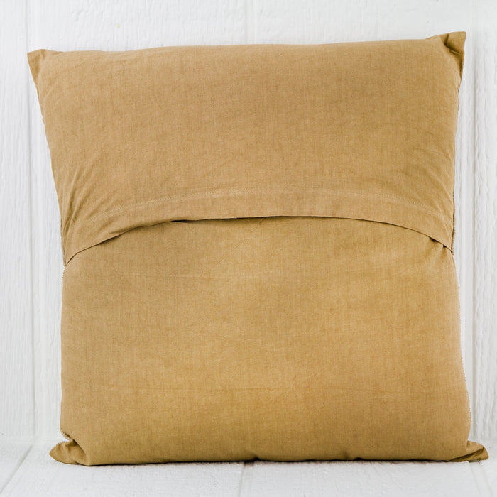 "Striped / Solid Cotton AR-13 Pillow (16"" x 16"")"