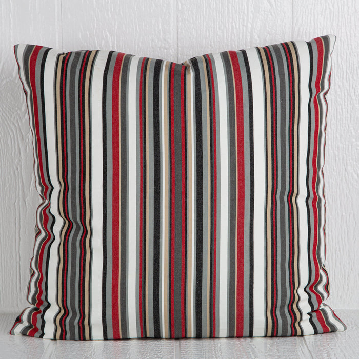 "Sunboat Striped Pillow (24"" x 24"")"