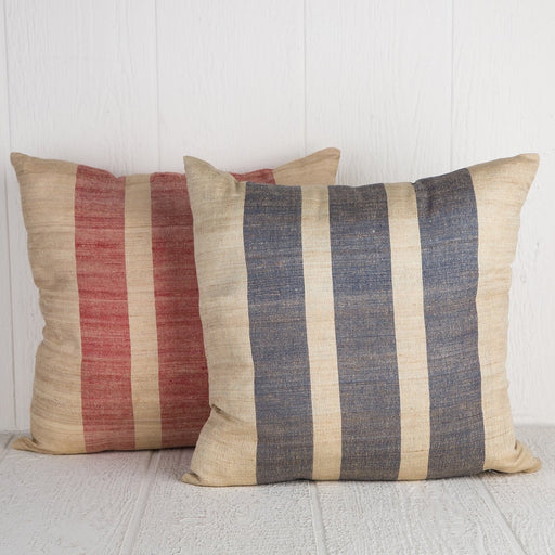 Sustainable Threads Striped Pillows