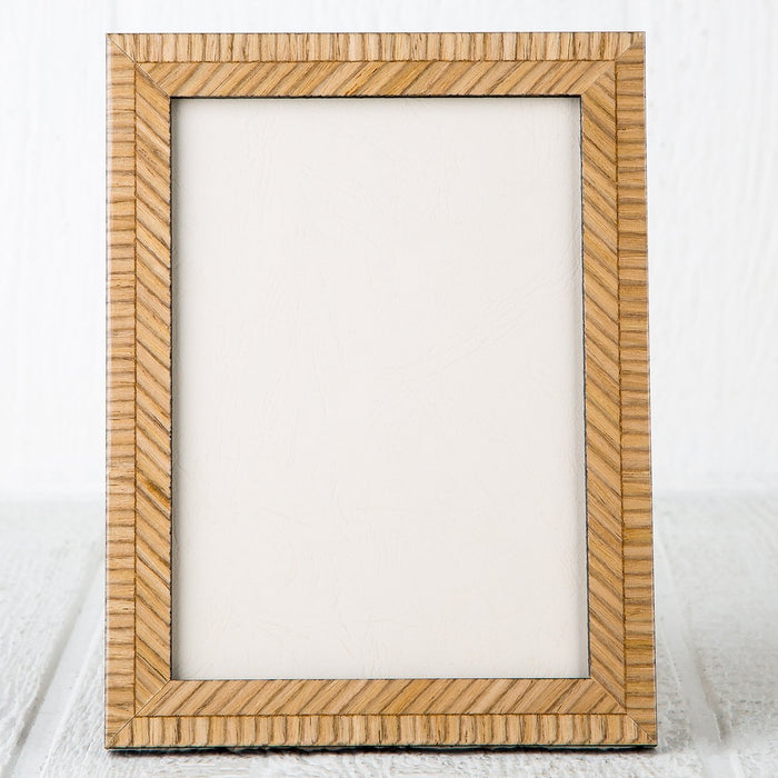 "Tan Picture Frame (5x7"")"