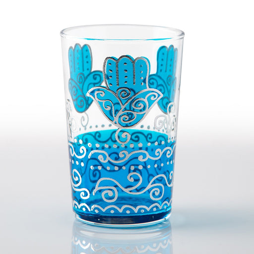 Teal Sahara Moroccan Tea Glass