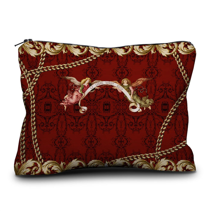The Eyes French Velvet Pouch
