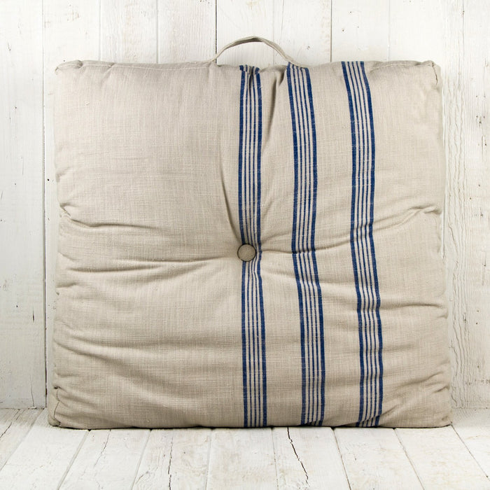 Theo Striped Floor Cushion