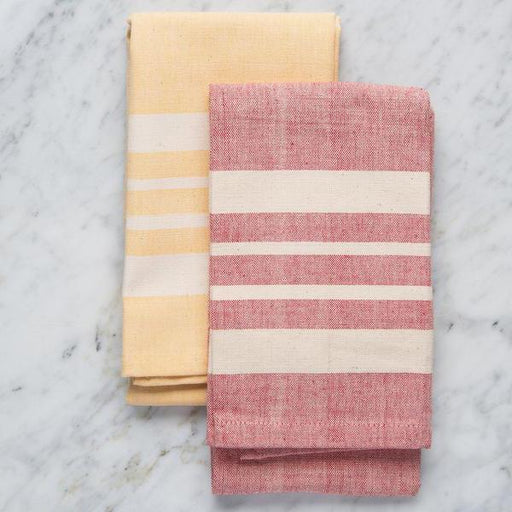 Thick Stripe Kitchen Towels (100% Cotton)