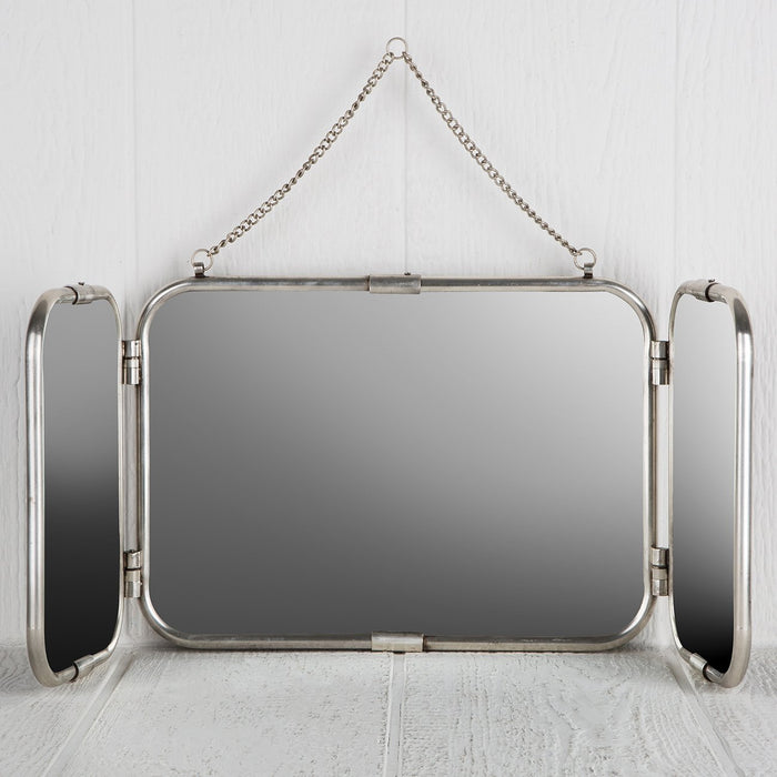 Three Panel Wall Mirror