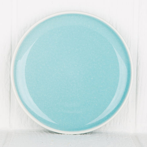Turquoise 60's Dessert Plate