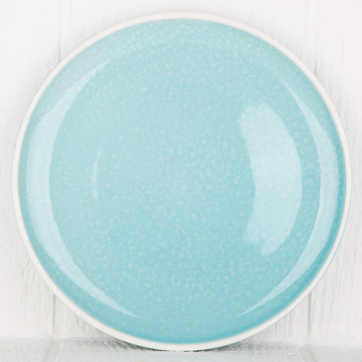 Turquoise 60's Dinner Plate