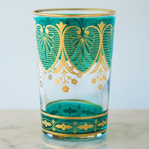 Turquoise Assif Moroccan Tea Glass