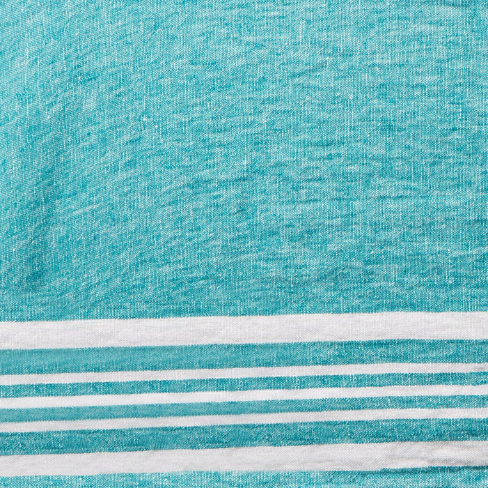 "Turquoise Avril Tablecloth (67 x 98.5"")"