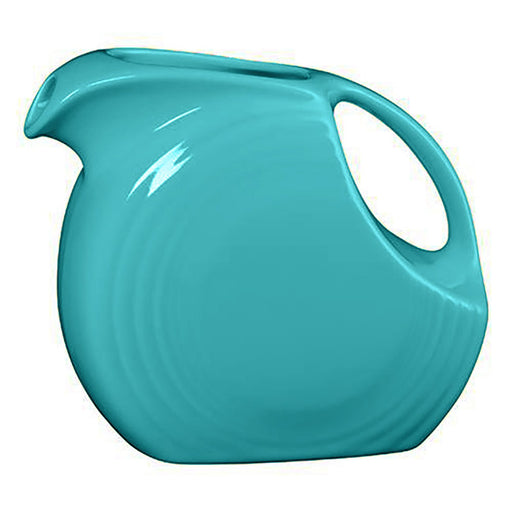 Turquoise Fiestaware Disc Pitcher (Large)
