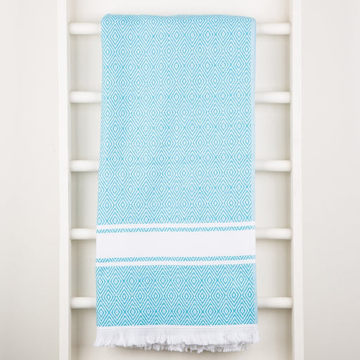 Turquoise Foutah Towels