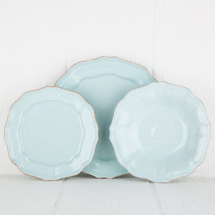 Turquoise Impressions Dinnerware