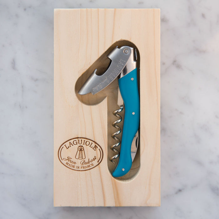 Turquoise Laguiole Wine Opener