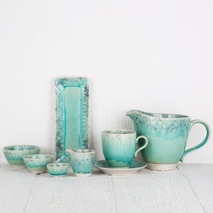 Turquoise Maderia Creamer