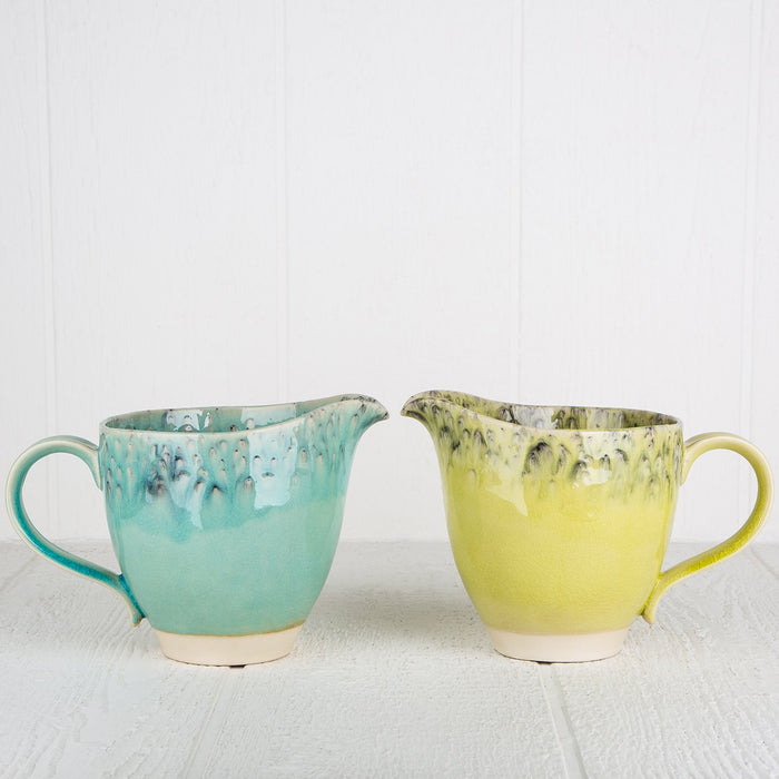 Turquoise Maderia Pitcher