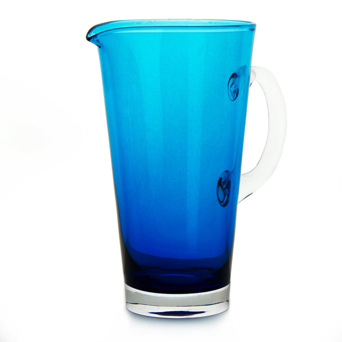 Turquoise Nadia Glass Pitchers