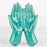 Turquoise Offering Hands Figurine